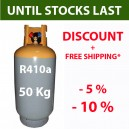 50 Kg R410a REFRIGERANT GAS REFILLABLE CYLINDER