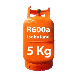 5 Kg R600a GAS (isobutane) REFILLABLE CYLINDER