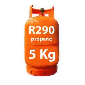5 Kg R290 GAS (propane) REFILLABLE CYLINDER