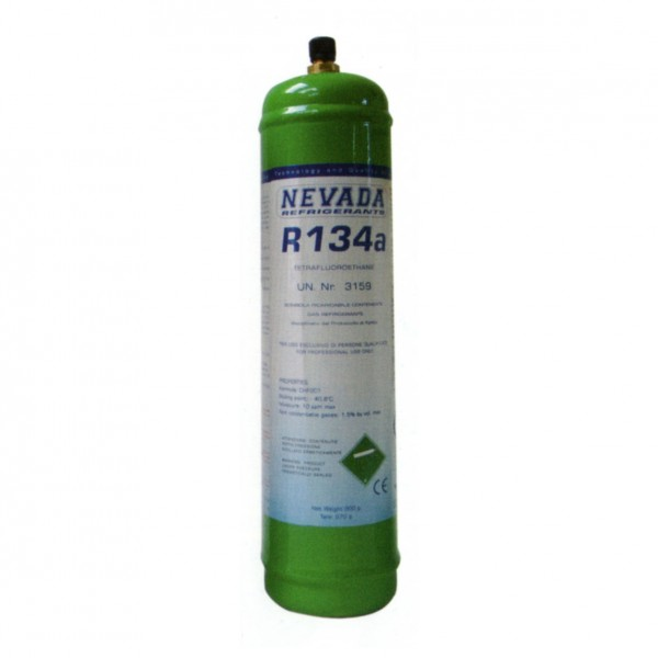 R134a R134 refrigerant gas 1 Kg refillable cylinder discount price