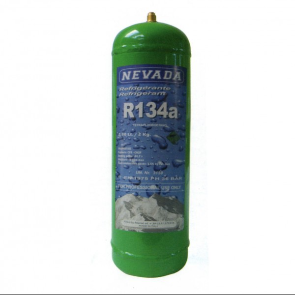 R134a R134 refrigerant gas 2 Kg refillable cylinder discount price