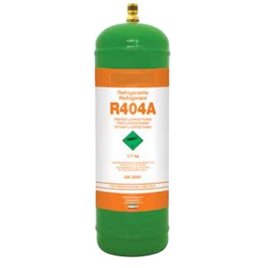 1,8 Kg R404a REFRIGERANT GAS REFILLABLE CYLINDER
