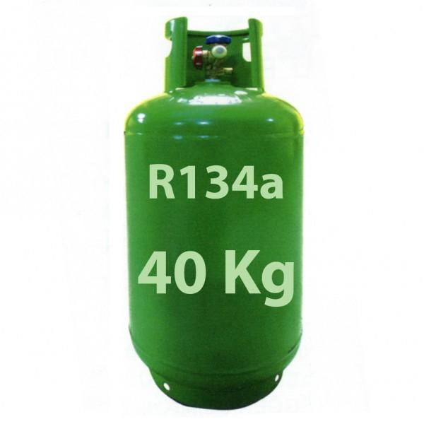 r134a r134 40 kg k ltemittel gas nachf llbar gasflasche zylinder verkaufen. Black Bedroom Furniture Sets. Home Design Ideas